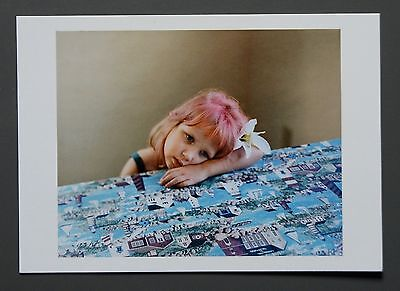 Alec Soth Limited Edition Photo 24x17 Mädchen m. pinken Haaren Florida 2004 Girl