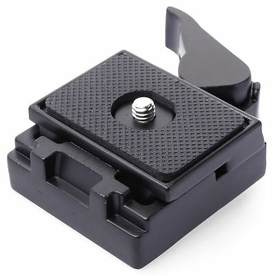 Quick Release QR Plate Clamp for Manfrotto 200PL-14 Camera Tripod Ballhead DC465
