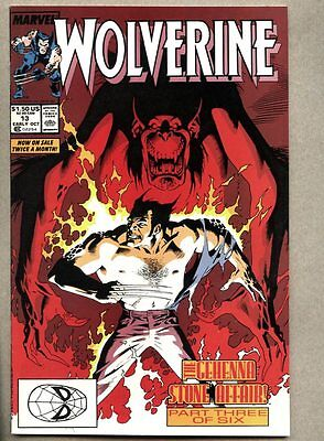 Wolverine #13-1989 nm 13th issue of the 1st regular series Peter David