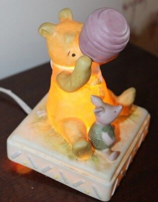 Classic Winnie the Pooh & Piglet Night Light by Charpente and Walt Disney Co. 6""