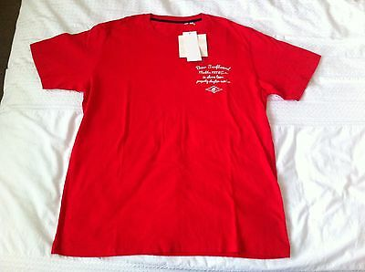 Uniqlo Red t shirt Medium Size New with Tags