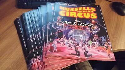 Russells International Circus Program 2017