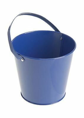 Metal Bucket (Blue) Party Accessory