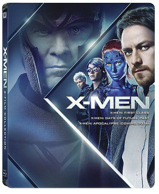 X-Men: Beginning Trilogy - Edizione Steelbook Limitata (3 Blu-Ray)