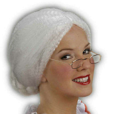 Mrs. Santa Claus Adult Wig Costume Accessory NEW Christmas