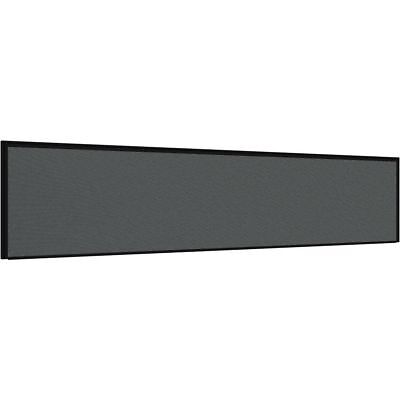 Stilford Professional Screen 1800 x 450mm Black and Grey