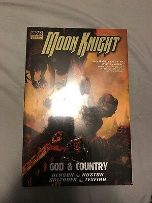 Moon Knight Hardcover Comic God & Country