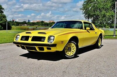 1975 Pontiac Firebird Factory Assembly Manual Bound Trans Am Esprit Formula