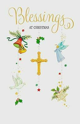 Blessings Prayer Religious Christmas Greeting Card 2 60