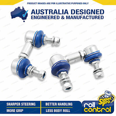 Superpro Front Sway Bar Link Kit HD Adjustable For MITSUBISHI TRITON ML MN