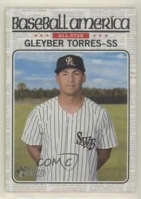 2017 Topps Heritage Minor League Edition #BA-GT Gleyber Torres Rookie Card