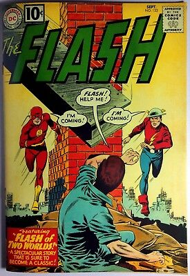 Flash #123  Coverless Original w/Custom Cover Complete Affordable Reader!