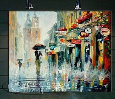 Beautiful Modern Abstract Wall Art Oil Painting On Canvas 32
