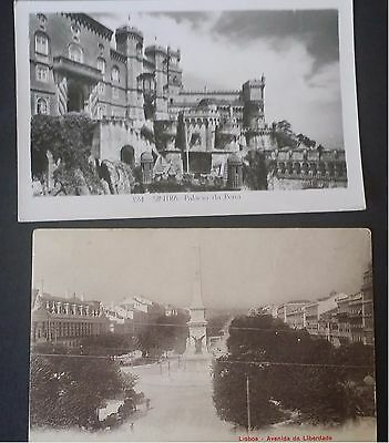 Vintage Picture Postcard Sintra and Lisbon Portugal