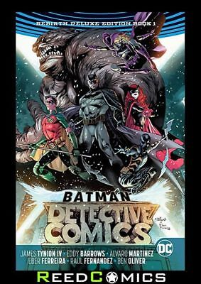 BATMAN DETECTIVE COMICS REBIRTH DELUXE COLLECTION BOOK 1 HARDCOVER (384 Pages)