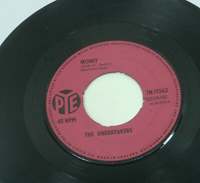 """THE UNDERTAKERS """"What About Us / Money"""" 60s UK BEAT Pye 1963 Vinyl 45"""