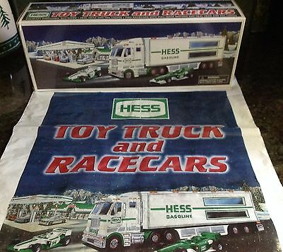 2003 Hess Toy Truck and Race-cars New in Box, Bag*