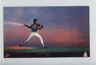 1985 Nike Poster Cards Promo Base #DWGO Dwight Gooden New York Mets Card