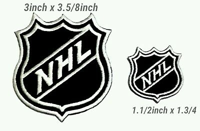 NHL Hockey Sport Logo Embroidery iron,sewing,patch on clothes