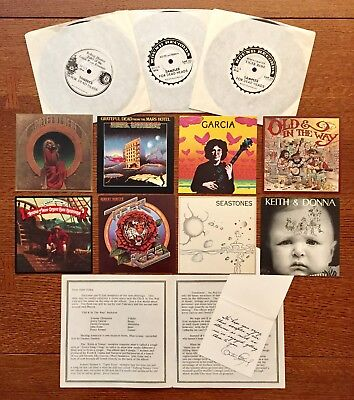 Grateful Dead Round Records Sampler For Dead Heads (3) + Print Material  ~ RARE