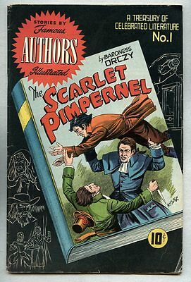 Stories By Famous Authors Illustrated #1-1950 vg/fn The Scarlet Pimpernel