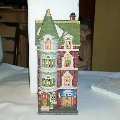 DEPT 56 5607 PARK AVE TOWNHOUSE Christmas in the City MINT COND. Retired 59773