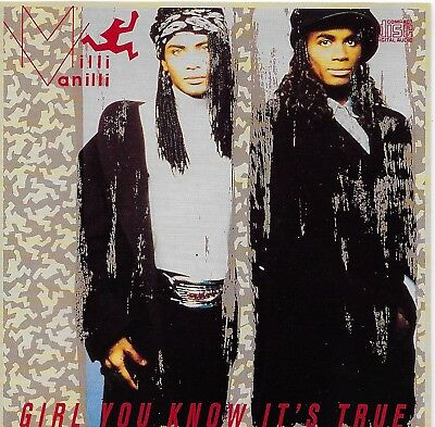 Girl You Know It's True by Milli Vanilli CD Mar-1989 Arista