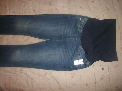 GAP Perfect Boot Maternity Jeans Full Panel Womens Size 25  Nwt  (B16)