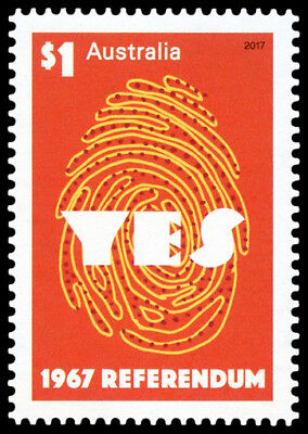 2017 Referendum 1967 Stamp - MUH