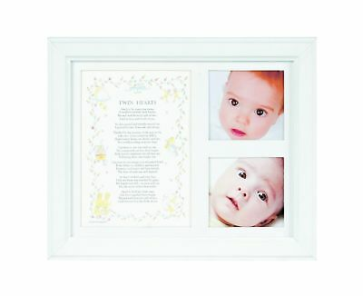 The Grandparent Gift Co. Photo Frame Twin Hearts