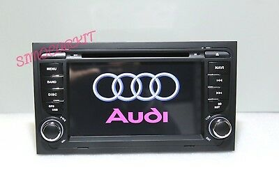 Autoradio Audi A4 S4 Rs4 Navigatore Stereo Gps Bluetooth Gps Usb  Mp3 Dvd Canbus