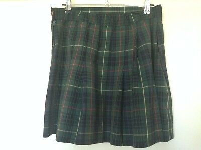 GIRLS GRANT HIGH SCHOOL UNIFORM SKIRT (SIZE 14) Mount Gambier