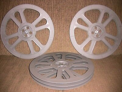 FOUR- 2300ft  16mm Goldberg Plastic reels - NEW -
