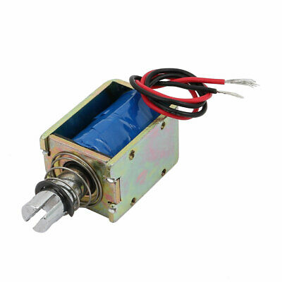 DC6V 400mA 10mm 25N Push Pull Type DC Solenoid Electromagnet Magnet JF-1040B