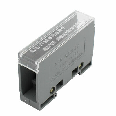 1 Input 2 Output 2 Positions 2 Rows 690V Wire Terminal Block Gray