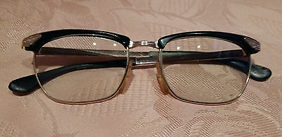 56b78496f171 VINTAGE MARWITZ OPTIMA GERMANY GOLD Filled EYEGLASSES 50  16 135 gold black  50 s