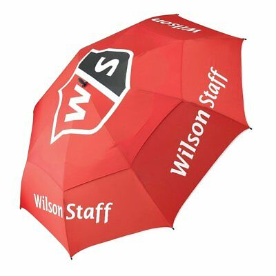 """Wilson Staff Double Canopy Tour Pro 68"""" Golf Umbrella, New For 2017"""