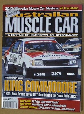 Australian Muscle Car Iss 84 de Tomaso Pantera V8 Sports Sedan, Larry Perkins