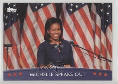 2008 Topps President Obama Collector Trading Cards #52 Michelle Speaks Out 1md