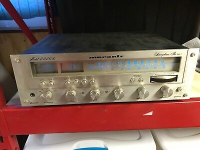Vintage Marantz Model 2226B AM/FM Stereo Receiver Good Condition, Tested Works