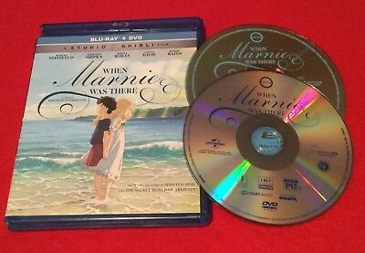 When Marnie Was There (Blu-ray + DVD, 2015, 2-Disc Set) US Region 1 Release!