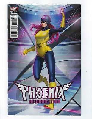 PHOENIX RESURRECTION RETURN JEAN GREY # 1 IN-HYUK LEE Cover