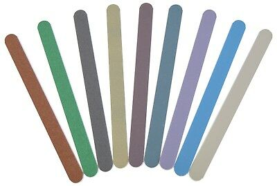 "MICRO-MESH - 1/2"" Wide - Sanding / Polishing / Buffing / De-Burring Flexi-Files"