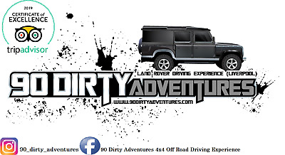 May 2019 Land Rover Driving Experience with 90 Dirty Adventures any Saturday.