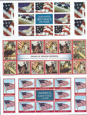 MNH BOY'S TOWN SEALS NORMAN ROCKWELL Buy 6 or More SHIP FREE + B2G1F 1631