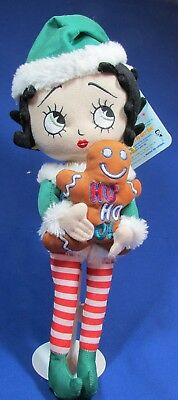"Elf Betty Boop Cloth Doll 17"" – Very Good Condition – Has Tags"