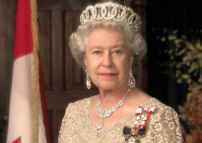 Queen Elizabeth Ii Photo Poster Print  A4 A3 Picture The Royal Family Collection