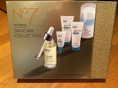 No7 Youthful Skincare Collection Gift Set Brand New Ideal Christmas Present
