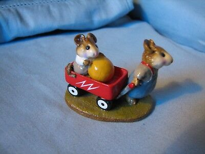 Wee Forest Folk M-151 The Red Wagon 1987 by William Petersen