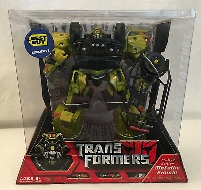 Transformers Moive 2007 Best Buy Limited Edition Metallic RATCHET